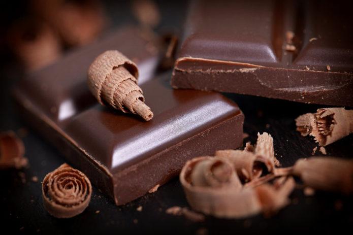 Чёрный шоколад улучшает зрение