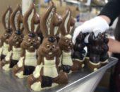Интересные фигурки из шоколада