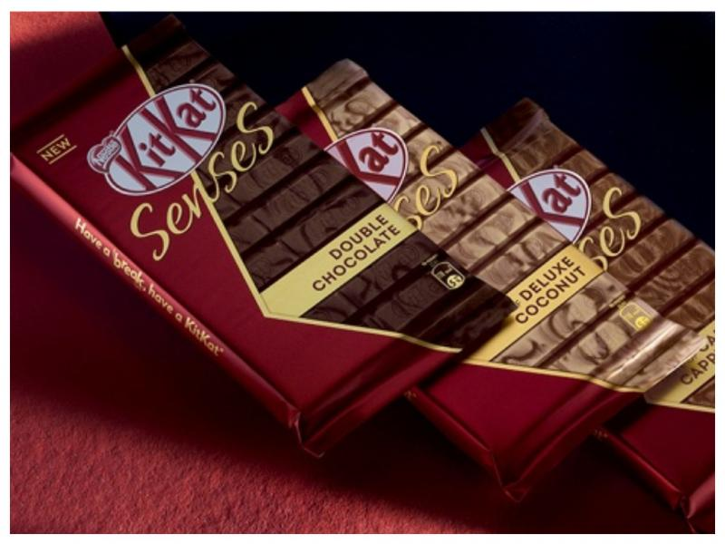 KitKat Senses запускает выпускпремиальных шоколадок