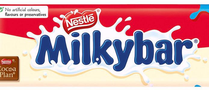 Белый шоколад Nestle