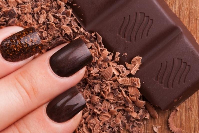 27 идей для шоколадного маникюра