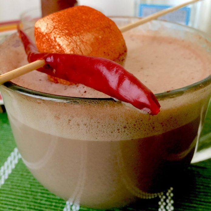 Коктейль «Шоколадная перчинка»