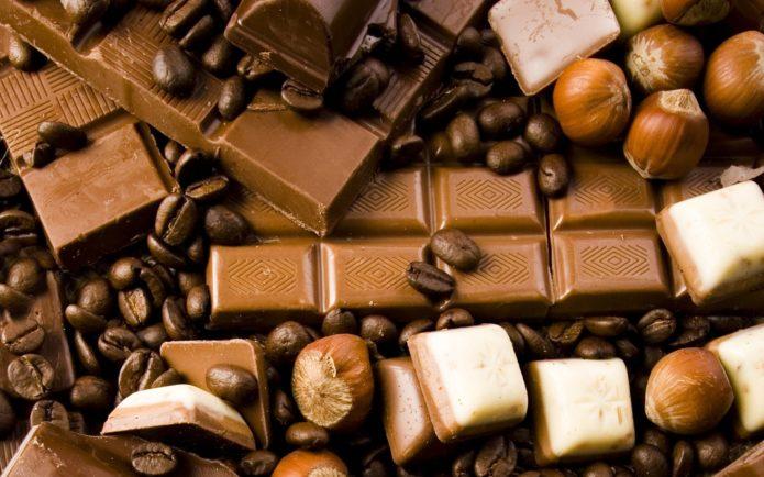 Сладкий шоколад