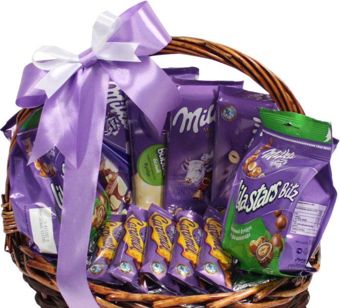 Идеи шоколадных подарков для девушек