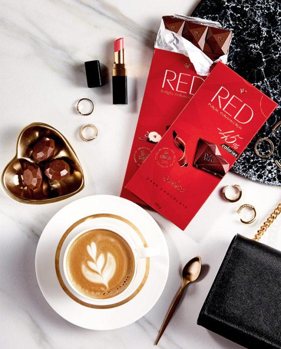 Классический темный шоколад RED