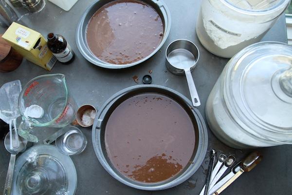 Смесь для шоколадных коржей в формах для запекания