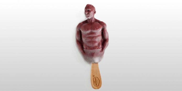 Мороженое в форме Джеймса Бонда