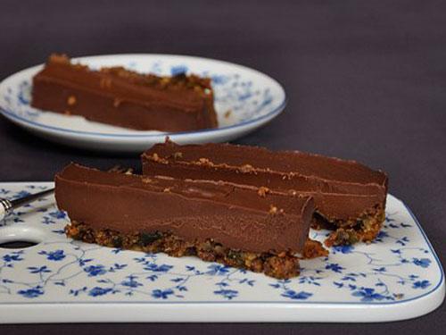 шоколадно ореховый пирог своими руками