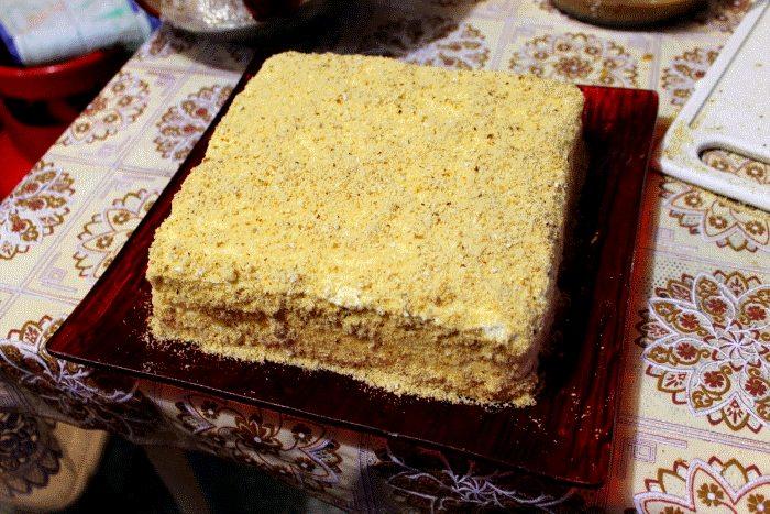 Как сделать торт из печенья без выпечки?