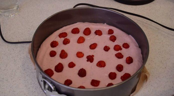 пирог с творогом без выпечки рецепт