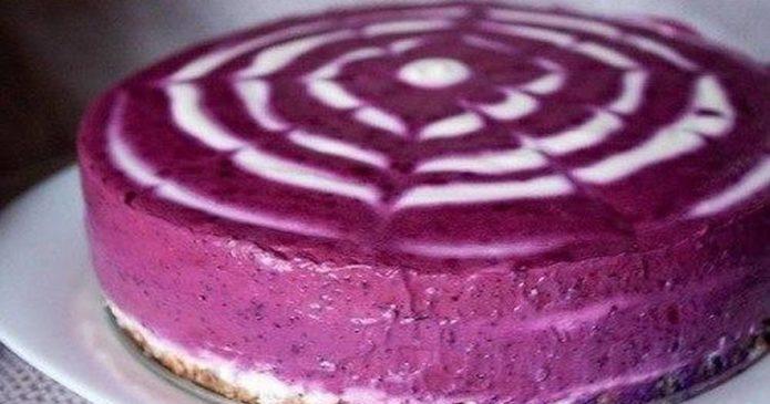 пирог с творогом без выпечки фото