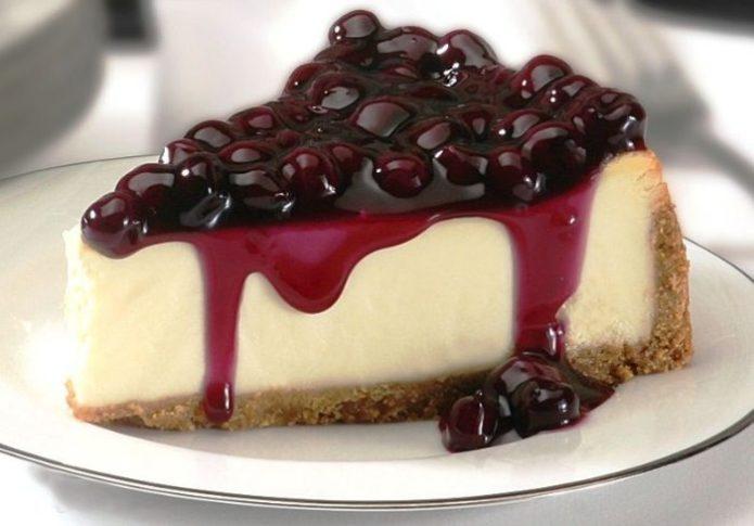 Вишнёвый десерт