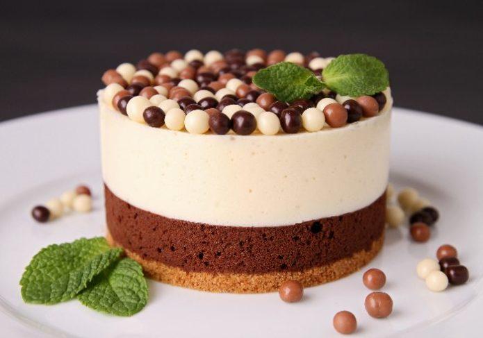 Чизкейк «Три шоколада»