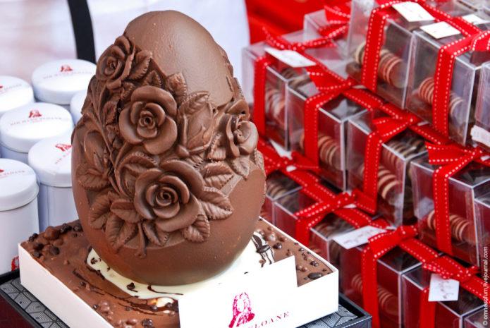 Шоколад ручной работы — фото