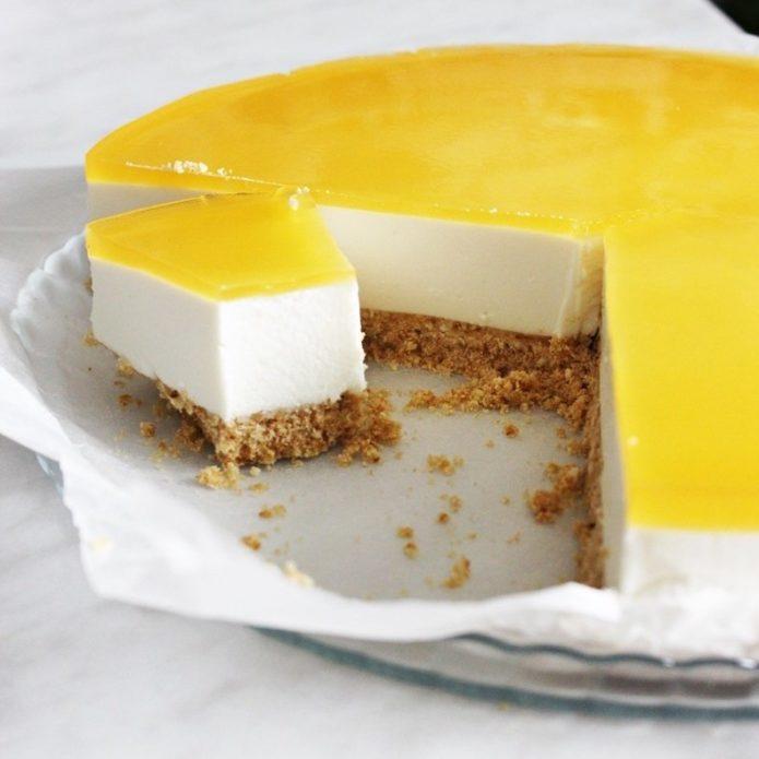 пирог с творогом без выпечки