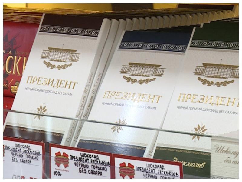 Шоколад «Президент» по рецепту Александра Лукашенко