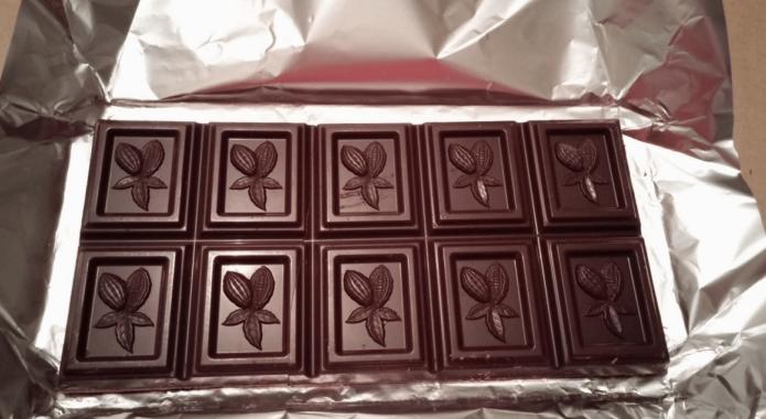 Шоколад с микроузором
