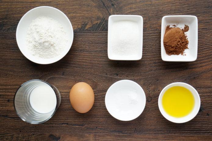 как приготовить шоколадный кекс в микроволновке