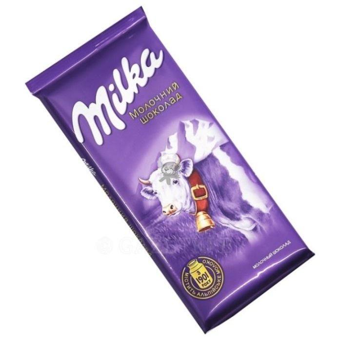 Лучший молочный шоколад в россии