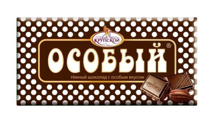 Рейтинг тёмного шоколада России