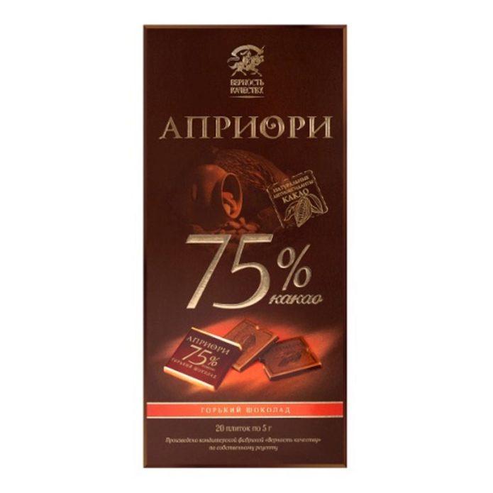 Горький шоколад лучший