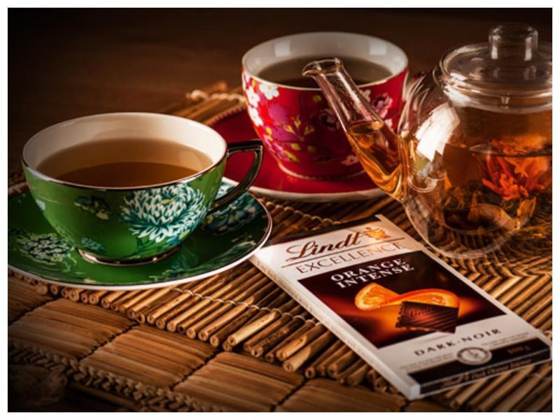чай и шоколад