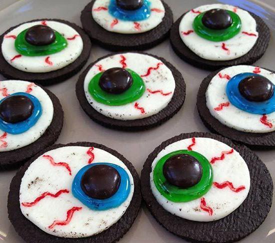 Печенье «Глаза монстра»