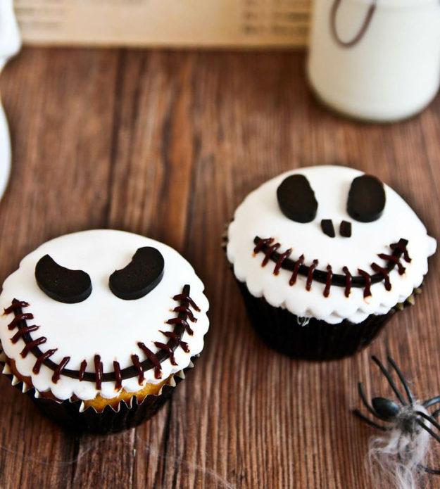 Кексы для Хэллоуина