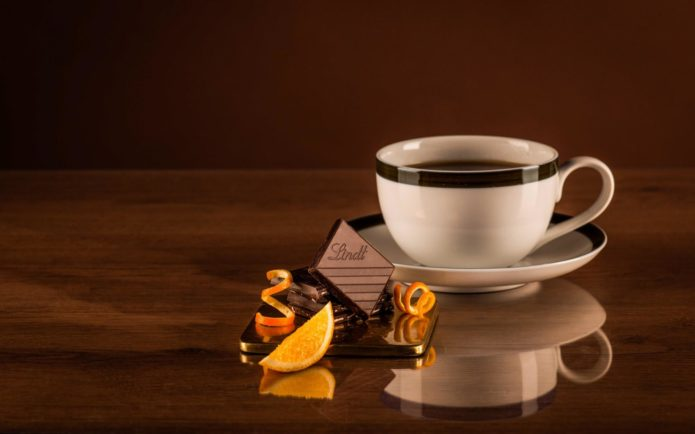 Шоколад и чай