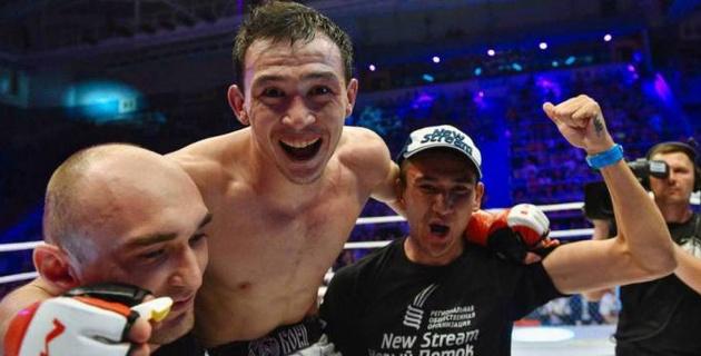 казах-победитель в UFC