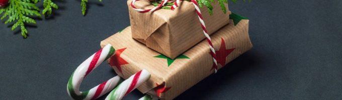 Необычный новогодний сладкий подарок