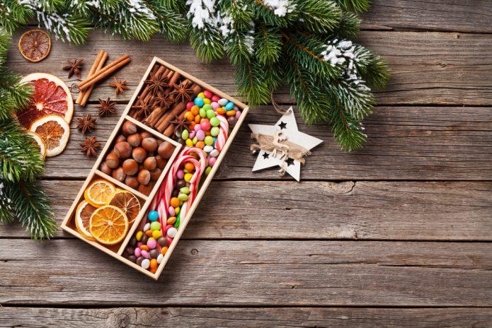 Необычный сладкий новогодний подарок