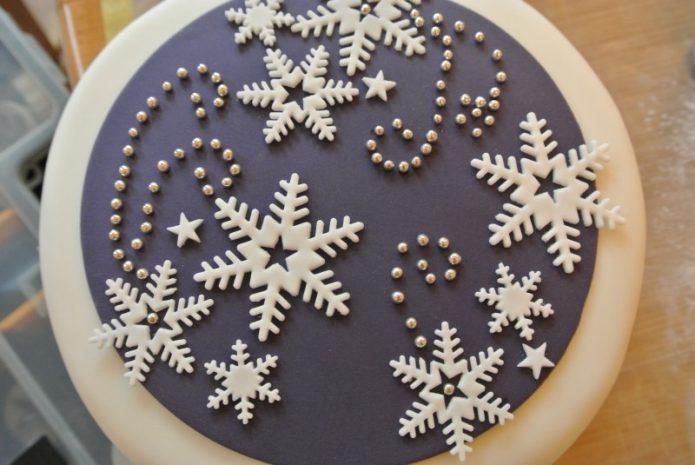 Изысканные украшения для торта
