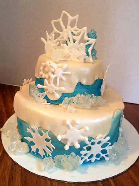 Украшение торта своими руками