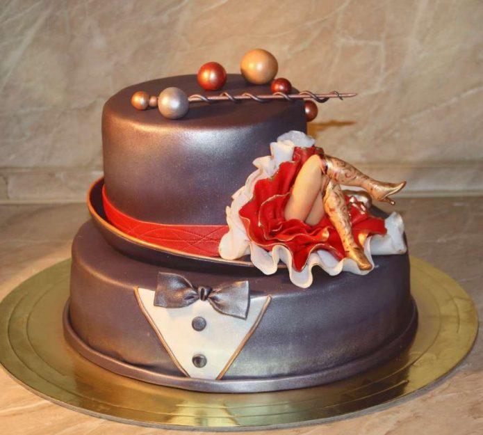 Мастичные торты необычные