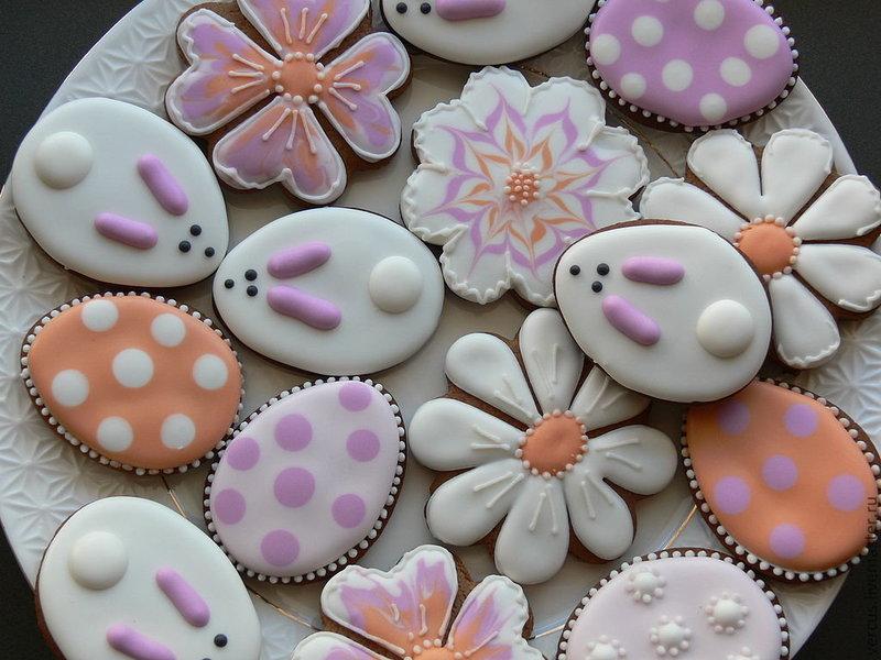 Варианты украшения глазурью пирожных и тортов