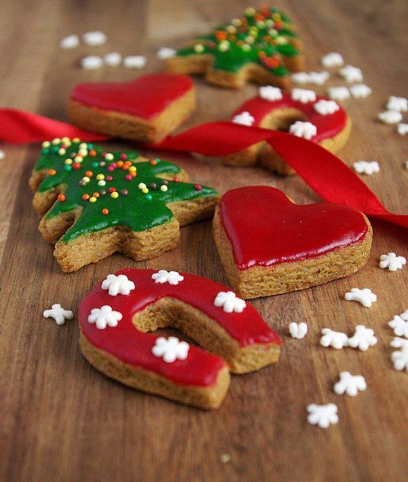 Домашние печенья в глазури