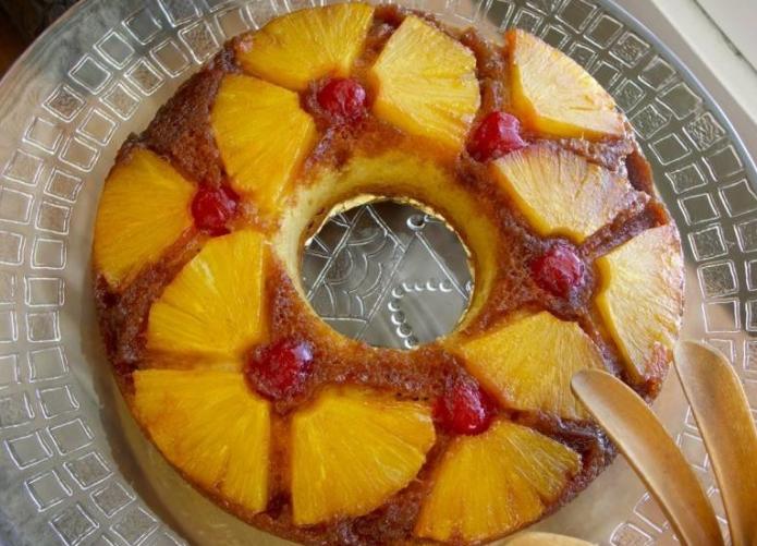 Пирог на Новый год