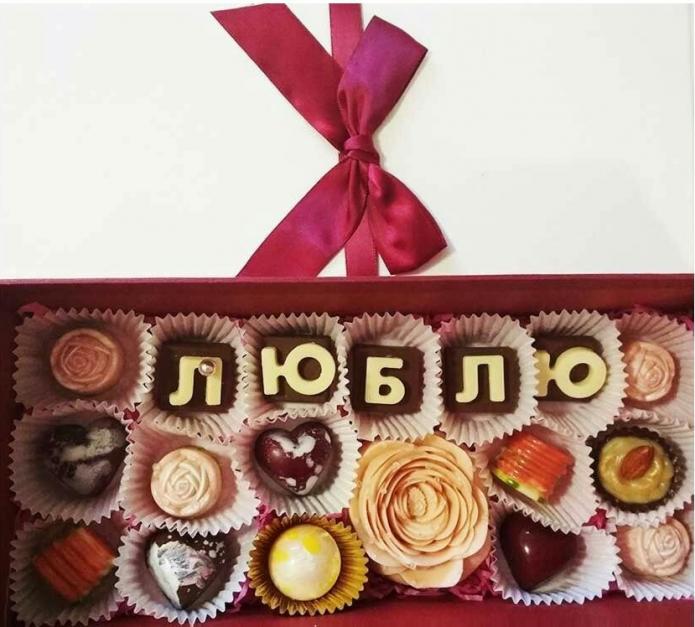 Открытки из шоколада
