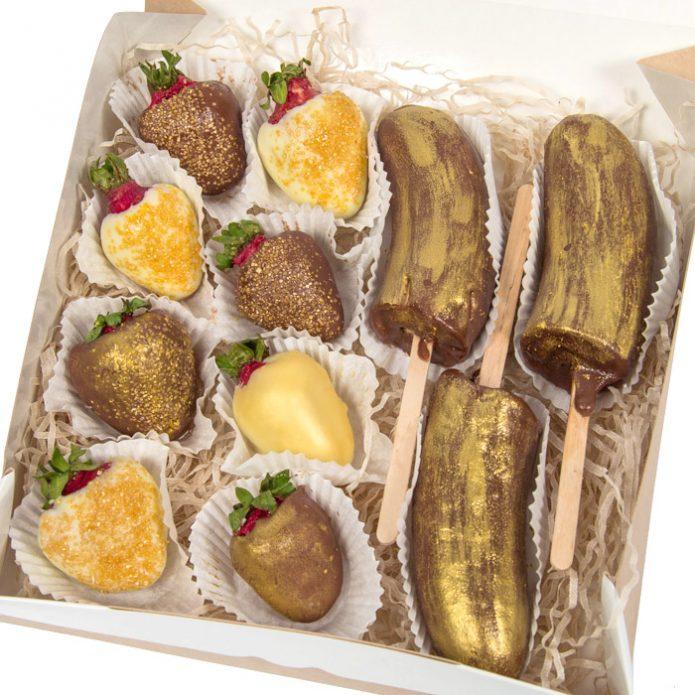 Банан в шоколаде