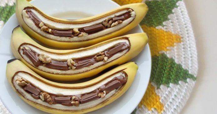 Шоколадный банан