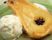 Десерт с грушей