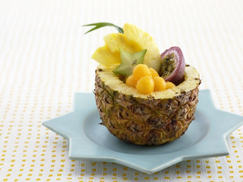 Десерты с ананасом