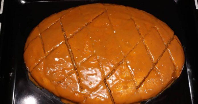 Пирожные с мягкой карамелью