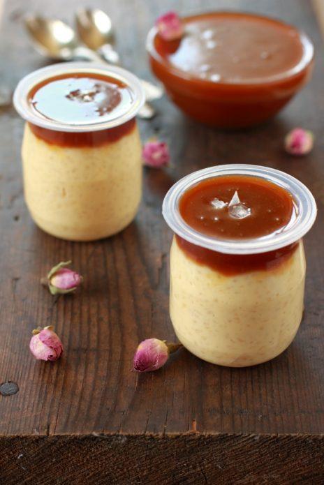 Молочные продукты с карамелью