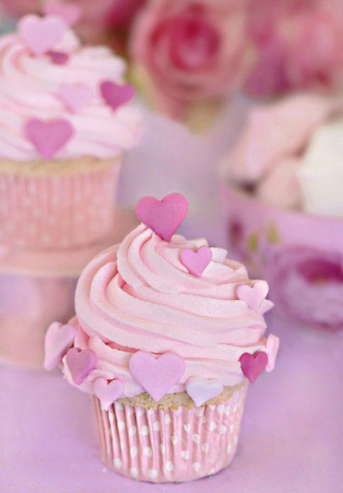 Мафины розовые