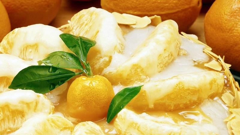 16 идея для апельсиновых десертов