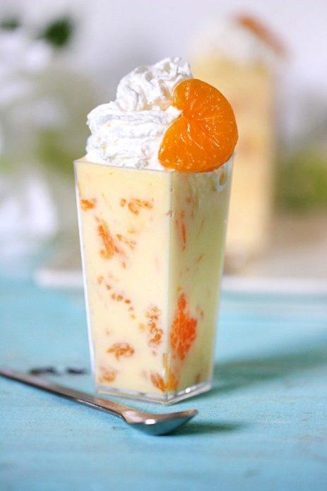 Сливки и апельсин