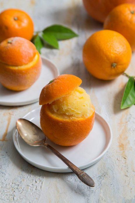 Марципан в апельсине