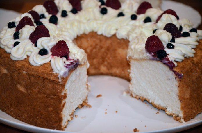 Пища ангелов, десерт